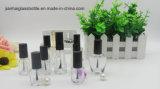 Bottiglia di vetro vuota del polacco di chiodo con la spazzola