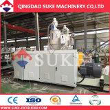 HDPE/PE/PP/PA/PVC plastic Enige/Dubbele Muur GolfUitdrijving Pipe/Tube die de Machine van de Extruder maken