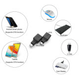 USBのAdroid/Samsung S7 S6 S4 S3 I9100 I9300のノート2のための女性のホストOTGのアダプターへのUSB 2.0のマイクロUSBの男性