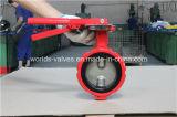 Valvola a farfalla industriale duttile del ferro Ggg50 Demco (D71X-10/16)