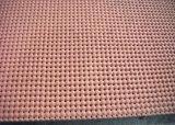Formati perforato 10mm x 0.9m x 1.8m dello strato della gomma spugnosa del silicone con colore giallo e rosso