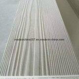 Planche d'évitement de 7,5 mm avec surface en bois pour le revêtement de mur extérieur