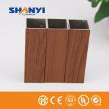 Du grain du bois Trsanfer aluminium aluminium pour porte de la fenêtre de profil d'Extrusion
