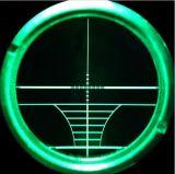espaço ótico iluminado do injetor do espaço do rifle da caça 6-24X50 Rangefinder verde vermelho