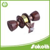 Großhandelsqualitäts-zylinderförmiger Drehknopf-Tür-Stahlverschluß, rundes Zylinderschloß