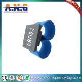 Braccialetto senza contatto di schiaffo del silicone di RFID/Wristbands su ordinazione impermeabili di schiaffo