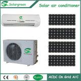 Tipo partido acondicionador de aire solar de la pared de Acdc del hogar