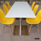 Kfc (T180419)のためのシンセンAcrylic Solid Surface Restaurant Tables