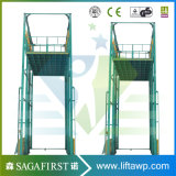 6m China Lieferanten-vertikaler Aufzug-materielles Aufzug-Höhenruder