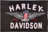 Hot moteur personnalisé Harley drapeau avec livraison gratuite