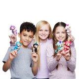 크리스마스 선물 다채로운 핑거 원숭이 손가락 끝 원숭이 아기 장난감 전자 애완 동물 대화식 아기 원숭이 작은 물고기
