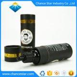Custom Gold l'Estampage Huile Essentielle de feuilles de papier Kraft Tube noir