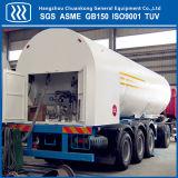 5m3-52m3容量の低温液化ガスの半トレーラーLNG/Lar/Linのタンカー