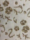 ガラス石のネットまたは網の刺繍、交渉可能な個々のデザインFob