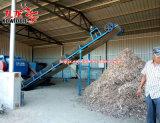 La nueva tecnología trituradora de madera de residuos