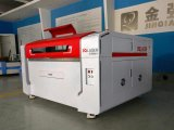 Machine de découpage neuve de gravure de laser de modèle pour les forces de défense principale acryliques de plastique