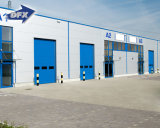 El edificio del almacén del azulejo de acero ancho de acero prefabricado del almacén que enmarca los 20m planea pequeño precio de los almacenes del Godown de la estructura de acero