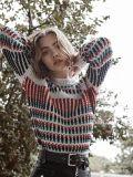 Strickjacke-bunter Pullover 2018 neuer Entwurfs-chinesischer Fabrik-Frauen