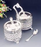 セットされる銀によってめっきされる香辛料(MG72412-1)