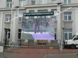 옥외 임대료를 위해 스크린을 광고하는 6800nits 높은 광도 P8 LED