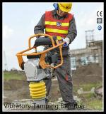 Aufbau-Maschinerie-Benzin-Vibrationsabdämmen-Ramme mit Robin-Motor Gyt-77r