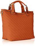 Sacchetto di grande capienza della signora Tote Mummy Bag di modo della borsa delle donne del sacchetto di cuoio dell'unità di elaborazione della tessitura della borsa delle signore (WDL0398)