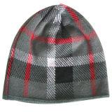 ロゴNTD16fで編まれるの編まれた帽子