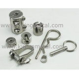 Type clip de l'acier inoxydable JIS de câble métallique