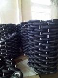 La gomma del carrello spinge 3.50-4 rotelle gonfiabili dell'aria della carriola da 10 pollici