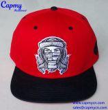 Fornecedor liso do chapéu de Strapback do bordado