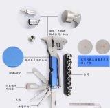 Kit Emergency automatico multifunzionale dell'acciaio inossidabile della chiave registrabile con colore del martello di sicurezza