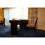 最高の贅沢な現代純木のホテルの寝室の家具セット