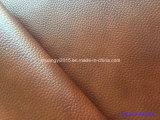 PVC sintetico del cuoio di tono di alta qualità due per il sofà