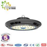 60/90 Grad-Objektiv 150lm/W UFO LED Highbay helles 200W, industrielle Beleuchtung UFO-LED, LED-Lager Highbay Licht