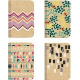 Colores personalizados escrito cuaderno diario de tacto suave