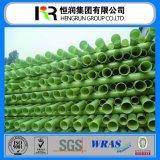Tipo de tubo de plástico reforzado con fibra de relleno con arena