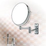 Lo specchio fissato al muro di trucco di 8 pollici con 10X ingrandice