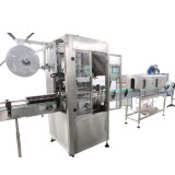 Machines à étiquettes gainantes de rétrécissement de PVC pour la bouteille
