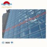構築の空のガラス平らで明確な緩和された安全によって強くされるガラス
