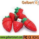 Ctue Karikatur-Erdbeere USB-Blitz-Laufwerk für Ihr Firmenzeichen