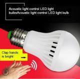 通路でか通路またはガレージまたは通路使用される音響の光量制御7W LEDの電球