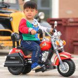 Детей в самых популярных привода 3 Колеса мотоцикл электромобиль дети с высоким качеством с музыкой
