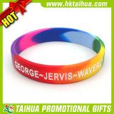 cadeau de promotion Bracelets en Silicone avec couleur segmenté (DSC05219)