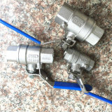 BACCANO Stainless Steel 2PC Ball Valve con Bsp Threaded Estremità