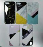 Alta qualidade Custom Design Cell / Mobile Phone Cover / Case para iPhone 7 / Se / 5 / 5s / 6 / 6s / 6 Plus Transferência de água IMD Flat Printing Plating Artesanato Opcional