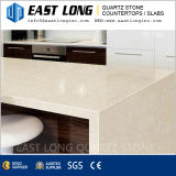 Fournisseur de partie supérieure du comptoir de pierre de quartz de la Chine pour conçu avec la surface Polished