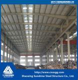 Struttura d'acciaio prefabbricata standard di GB con la trave di acciaio galvanizzata