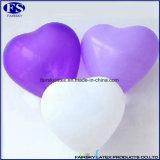 普及した自然な乳液12インチ3.0gの中心の形の気球