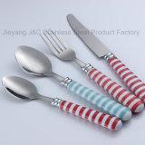 Modèle neuf pour le jeu de couverts/vaisselle/vaisselle plate de couteau de fourche de cuillère