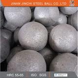 Bolas de acero de pulido forjadas de la alta precisión